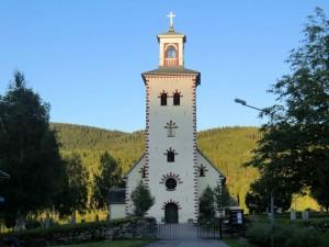 Gräsmarks kyrka i Uddheden